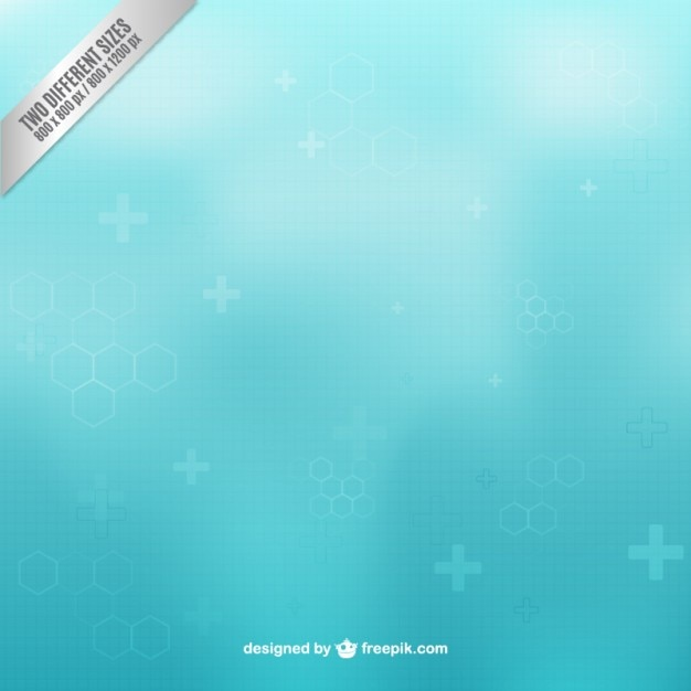 Cool Background For Health: Health Care Background In Blue Color Vector