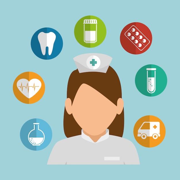 Health care design Premium Vector