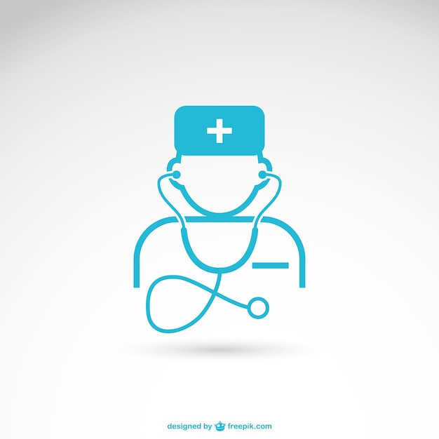 Health care professional vector