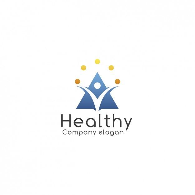 Health Company Logo Template