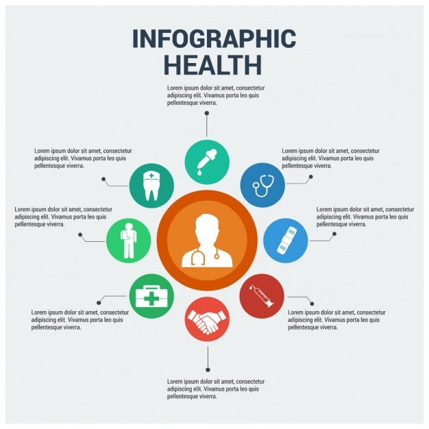 Health Infographic Free Vector