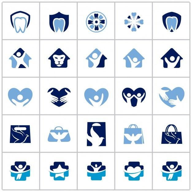 Health logo collection