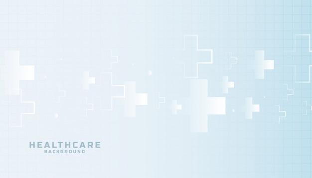 Здравоохранение и медицинская наука элегантный фон Бесплатные векторы