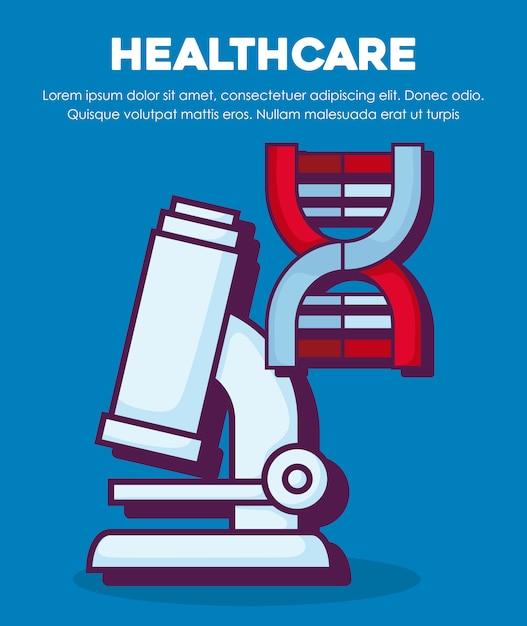 Healthcare concept Free Vector