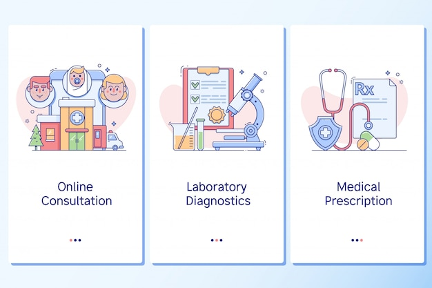 Healthcare and healthy lifestyle Premium Vector