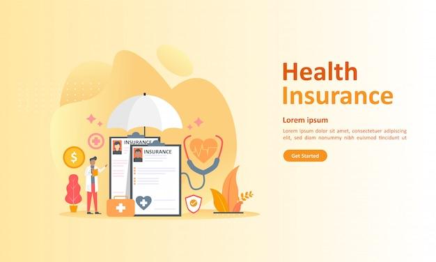 Healthcare insurance Premium Vector