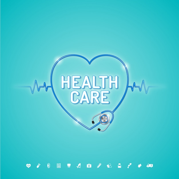 Healthcare and medical concept Premium Vector