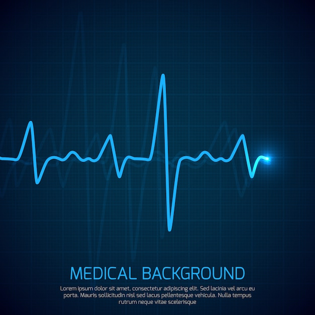 Healthcare vector medical background Premium Vector