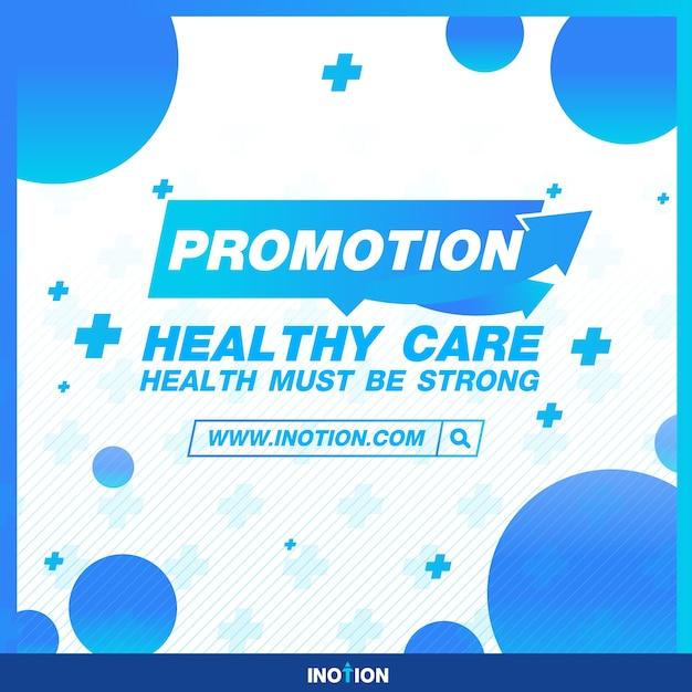 Healthy banner Premium Vector