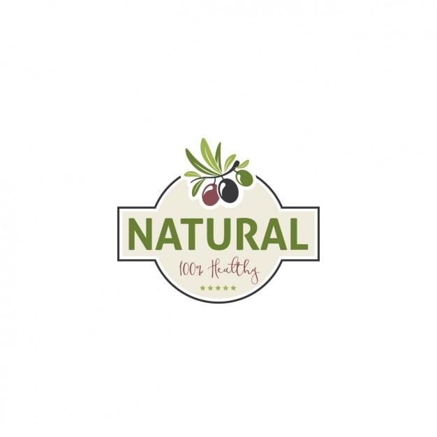 Healthy Food Logo Template