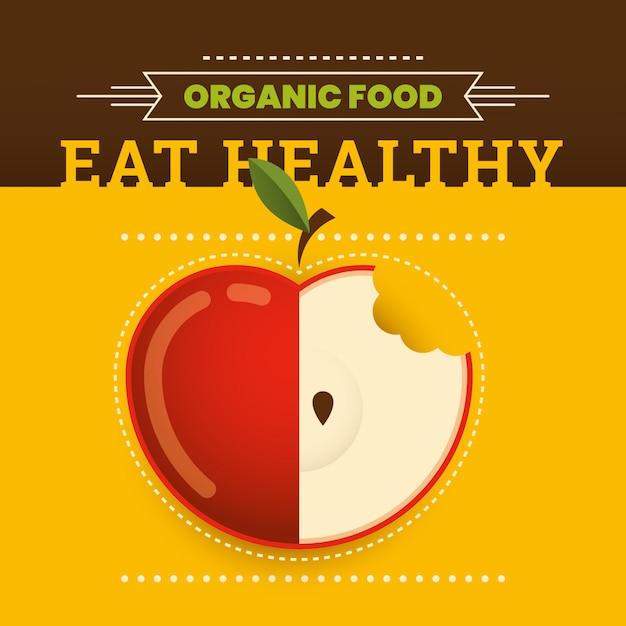 Healthy food Premium Vector