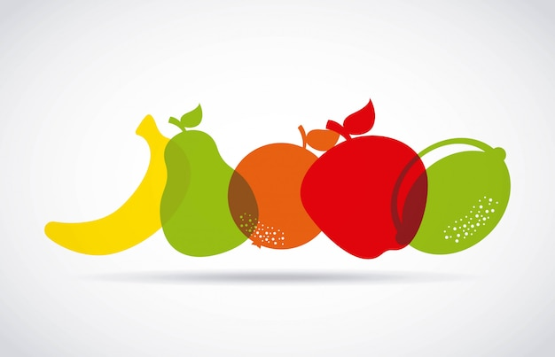Healthy food Premium Vector