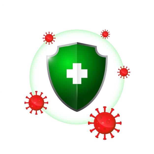 Система здоровой защиты, иммунная система Premium векторы