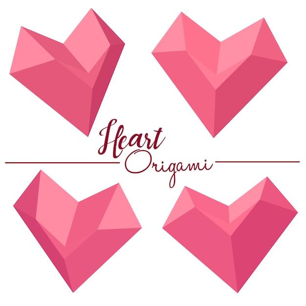 Origami secret heart message box instructions | 626x626