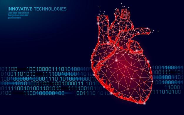 Heart illustration Premium Vector