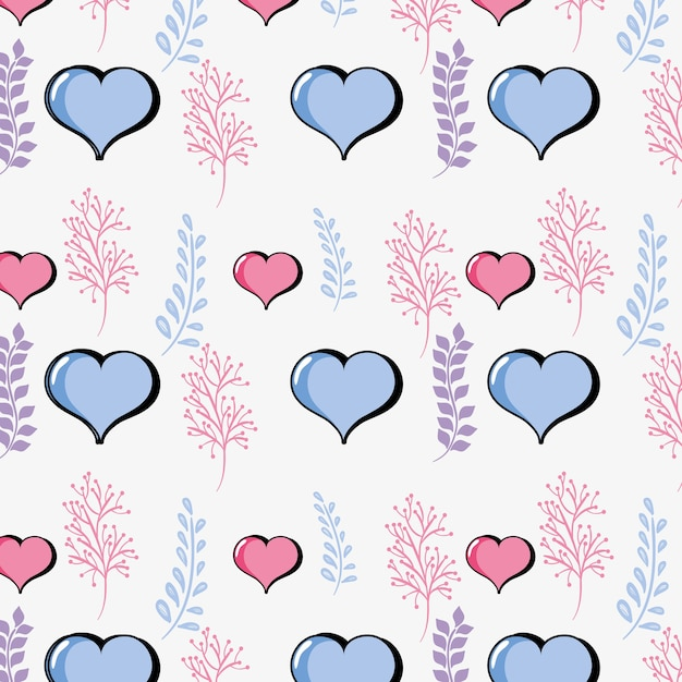 Heart Symbol Of Love And Passion Background Vector Premium Download