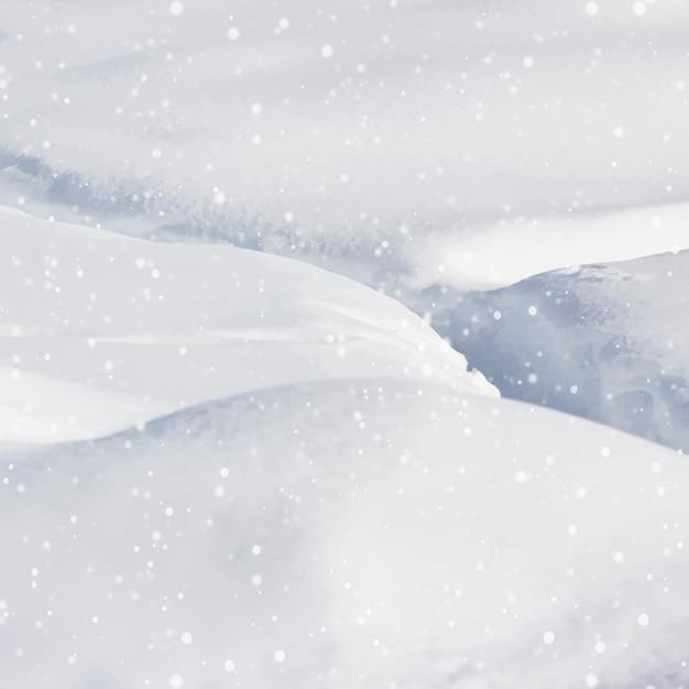 スティームボートスプリングスのキャビンを取り囲み、その上に大雪が降っています。 無料ベクター