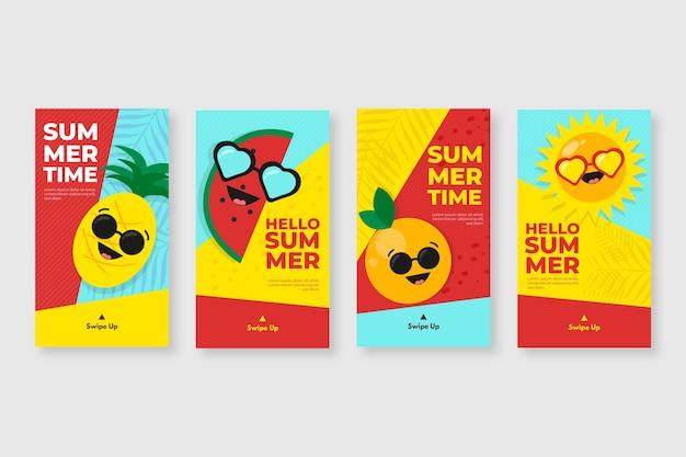 Привет лето сборник рассказов instagram Бесплатные векторы