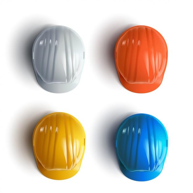 Шлем комплект Premium векторы