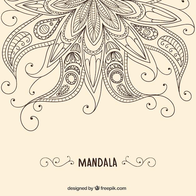 henna background vector free download