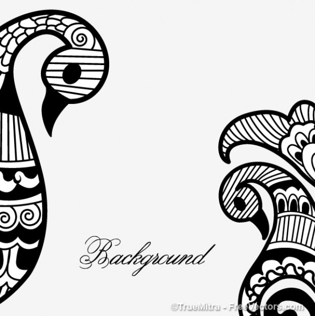henna mehandi vector background vector free download rh freepik com henna vector pattern henna vector background