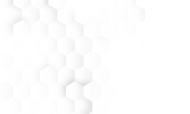 Hexagon concept design abstract technology Premium Vector