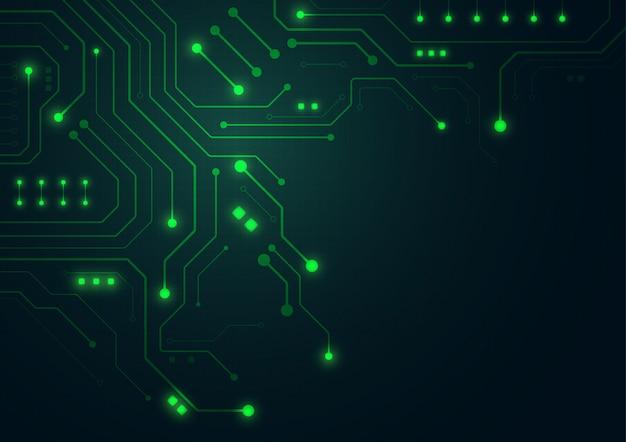 Premium Vector High Tech Technology Geometric Background