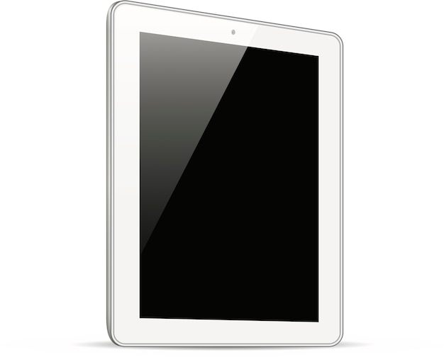 Highly detailed responsive tablet Premium Vector