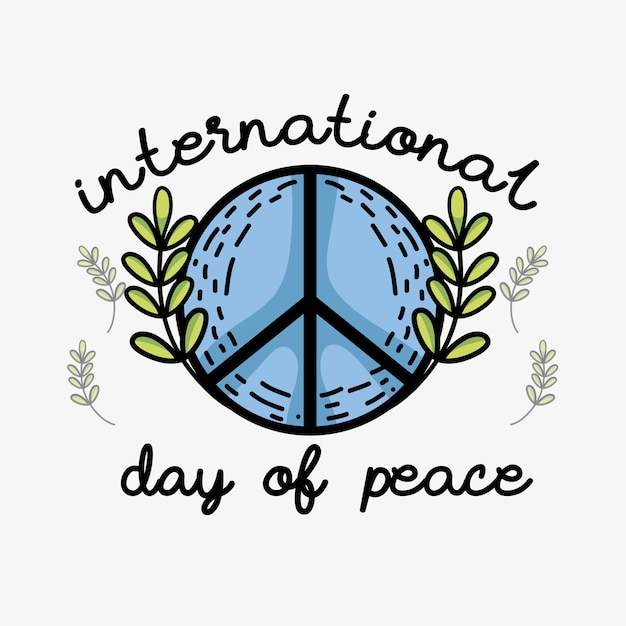 Hippie Symbol To Peace And Love Vector Premium Download