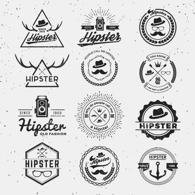 Hipster Vectors, Photos and PSD files | Free Download