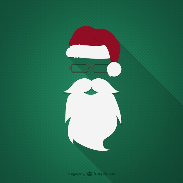 ee3ebd86a7d172 Hipster santa claus Vector | Free Download