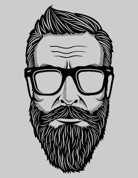 Hipster Premium Vector