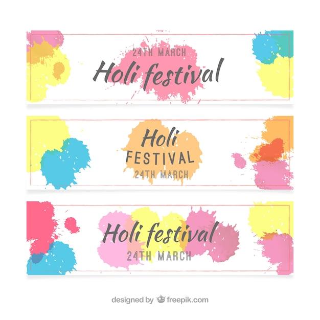 holi banner images