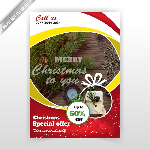 Holiday Flyer Template Vector Free Download - Free holiday flyer templates