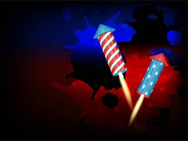Holiday white country background american\ independence day
