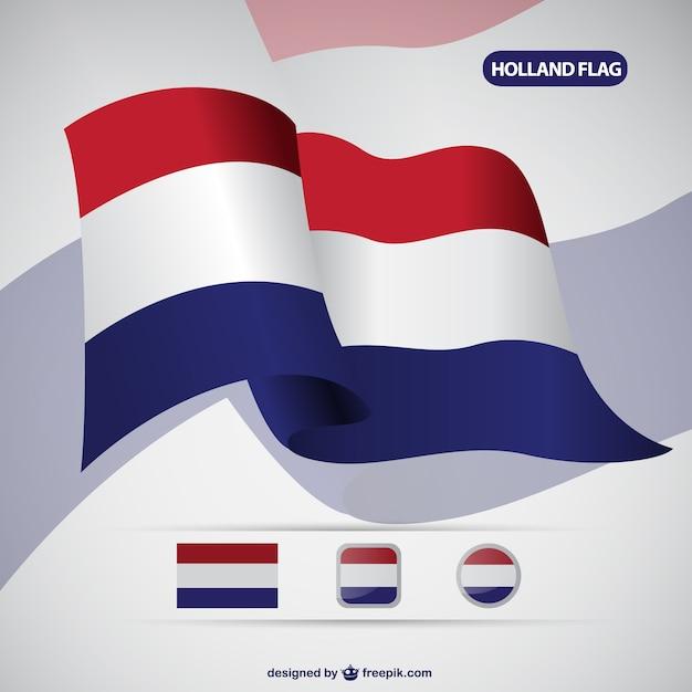 holland flag vector free download rh freepik com Flag Vector American Flag Vector Black and White