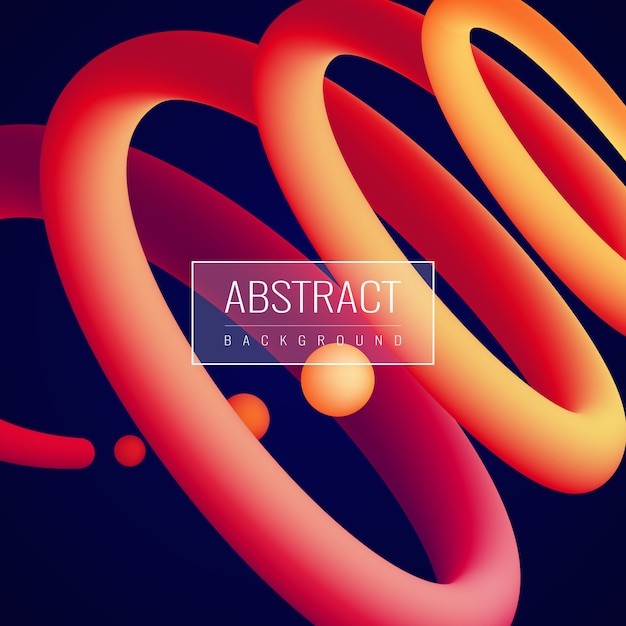 Holographic fluid abstract background Free Vector
