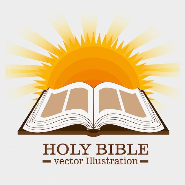 Holy bible book Premium Vector
