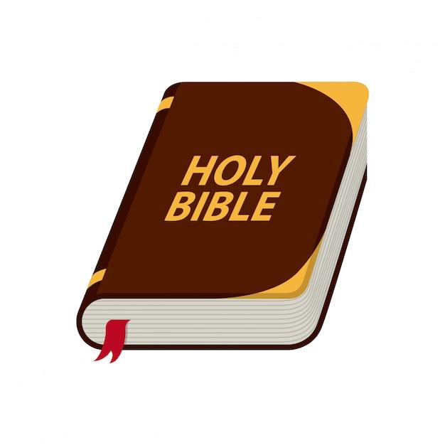 Holy bible design Premium Vector