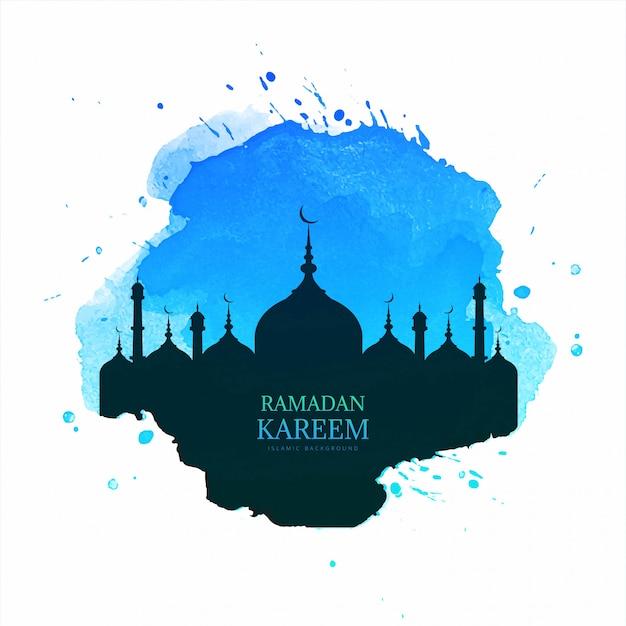 Священный месяц рамадан карим справочная информация Бесплатные векторы