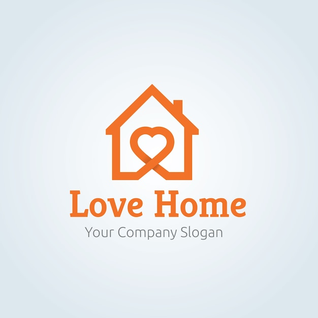 Home care logo template. Vector | Premium Download
