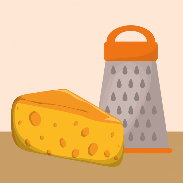 Home kitchen icons design Premium Vector