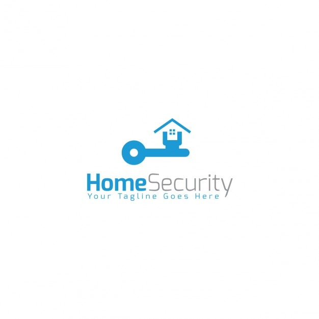 home security logo template vector free download