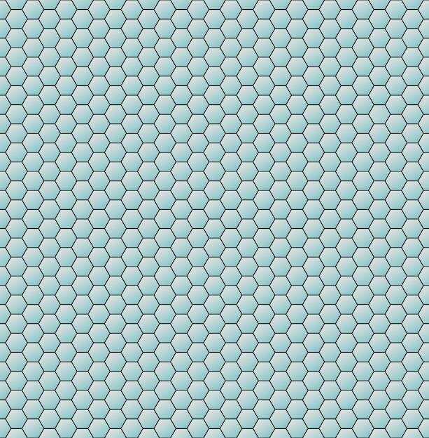 ハニカム六角形は幾何学的な背景を抽象化します。ベクター Premiumベクター