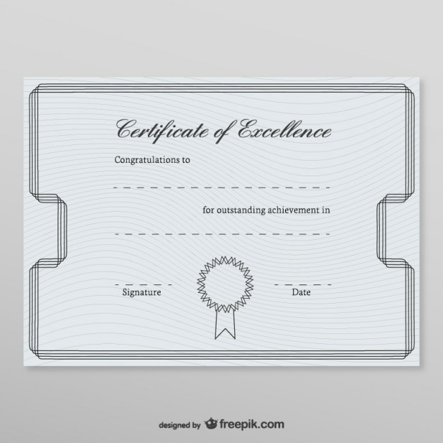 Honorary certificate template vector free download honorary certificate template free vector yadclub Choice Image