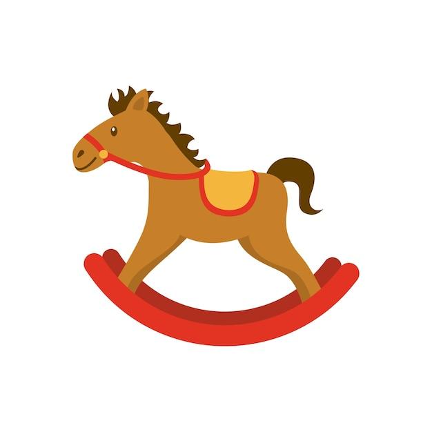 Значок дерева лошади Premium векторы