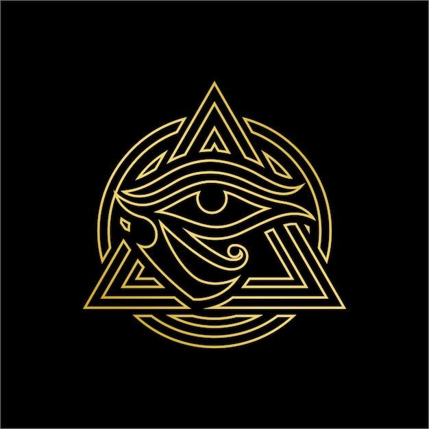 Horus eye Premium Vector