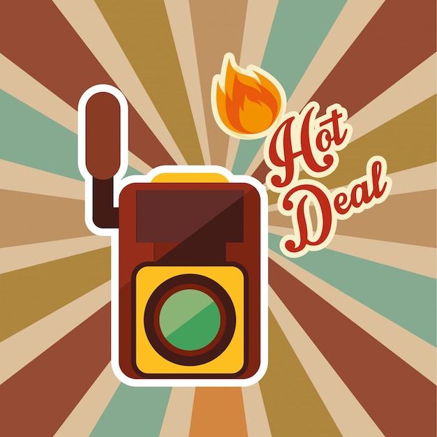 Hot deal Premium Vector