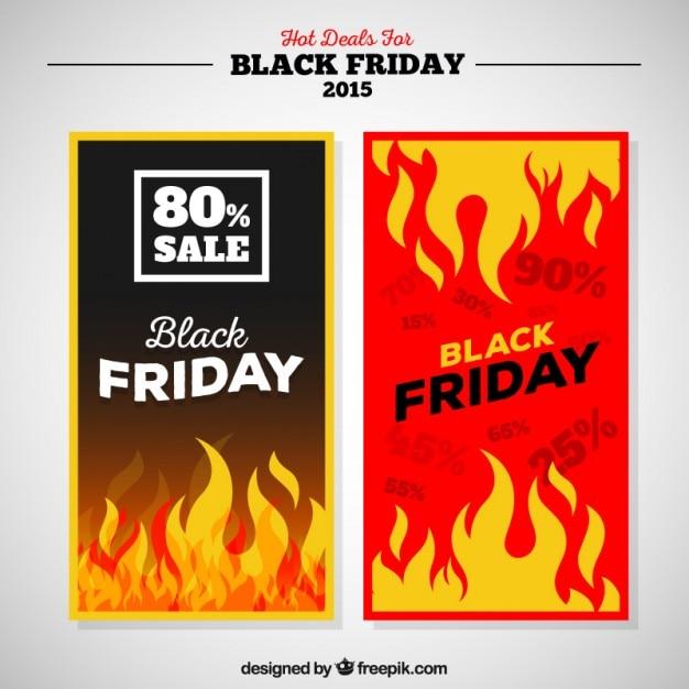 Premium Vector Hot Deals For Black Friday