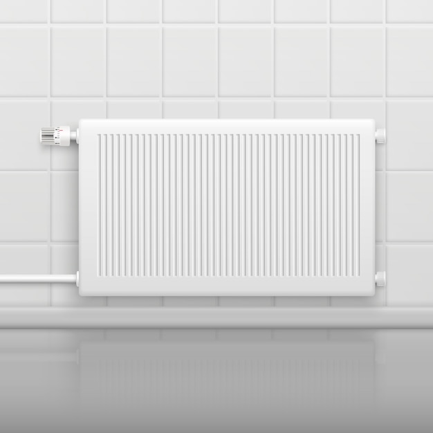 Hot water radiator Free Vector